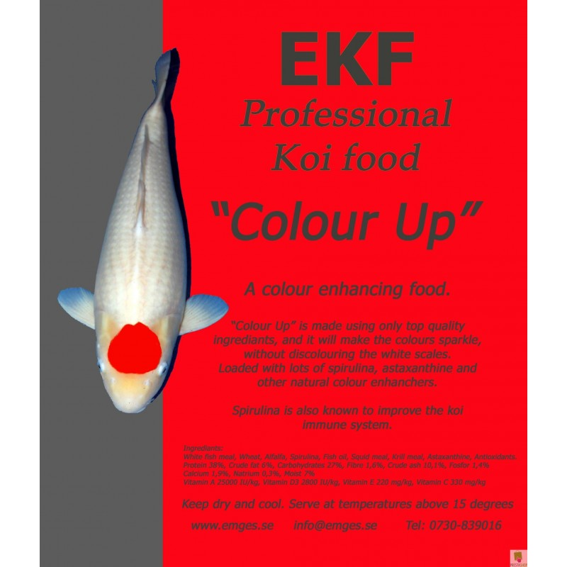 EKF Colour Up, 5 liter koifoder